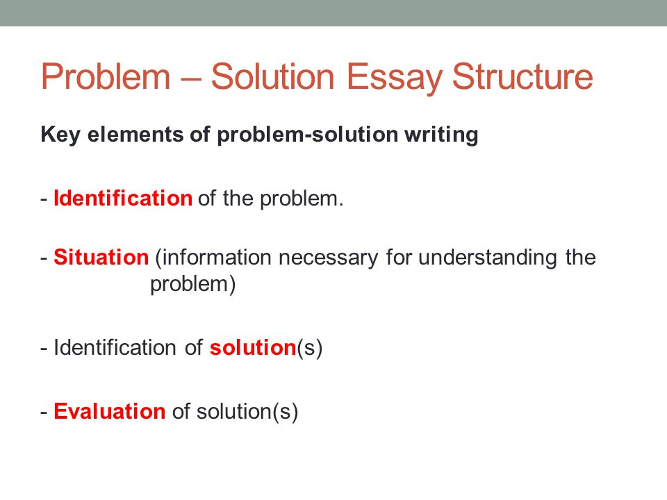 problem solution essay plan Let's look at an essay plan and an introduction for the question below more and more people are migrating to cities in search of a better life, but city life can be extremely difficult.