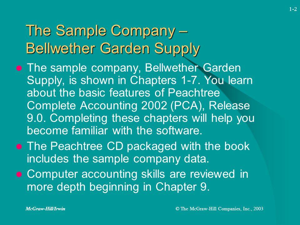 Elegant McGraw Hill/Irwin© The McGraw Hill Companies, Inc., 2003