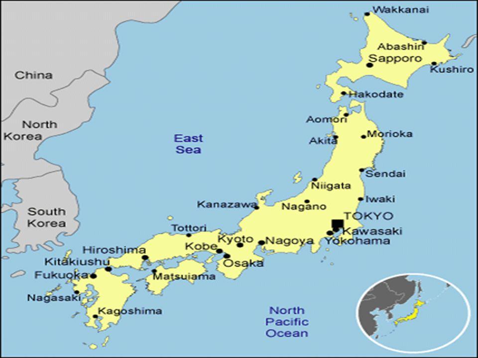 Japanese Geography Japan Physical Characteristics Japans Four - Japan map four main islands