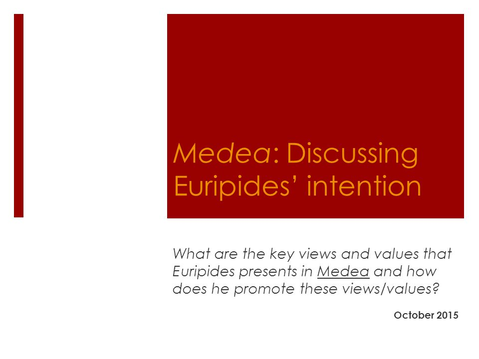 an analysis of the sanctity of oaths in medea by euripides