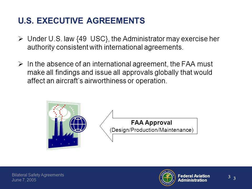 Federal aviation administration 0 bilateral safety agreements june federal aviation administration 3 bilateral safety agreements june 7 2005 3 us platinumwayz