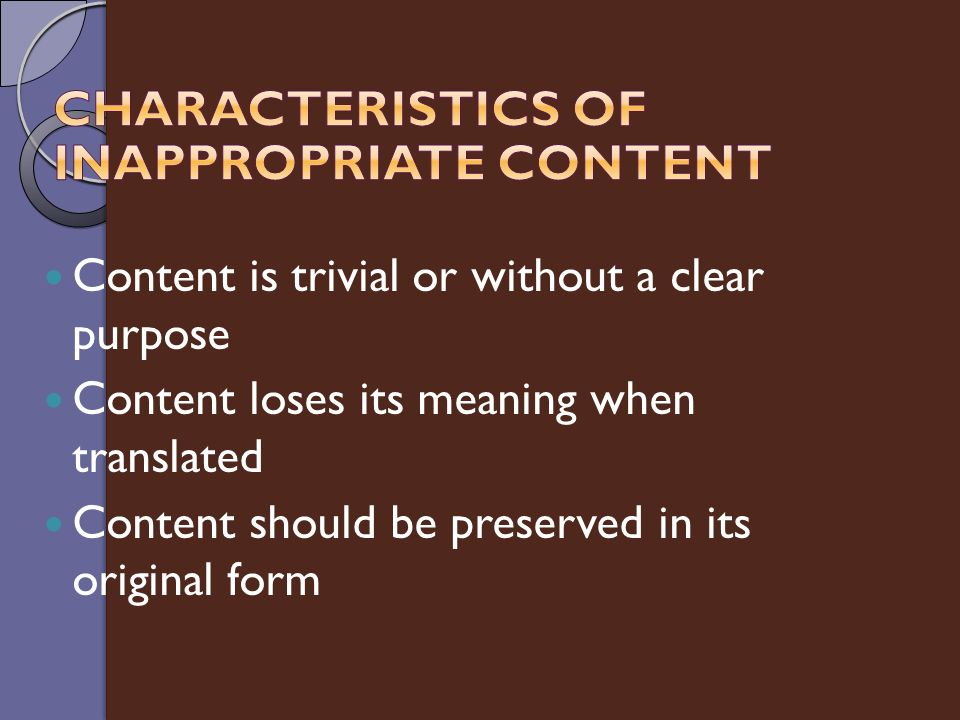 Presentation Purpose Understand business uses of presentation ...