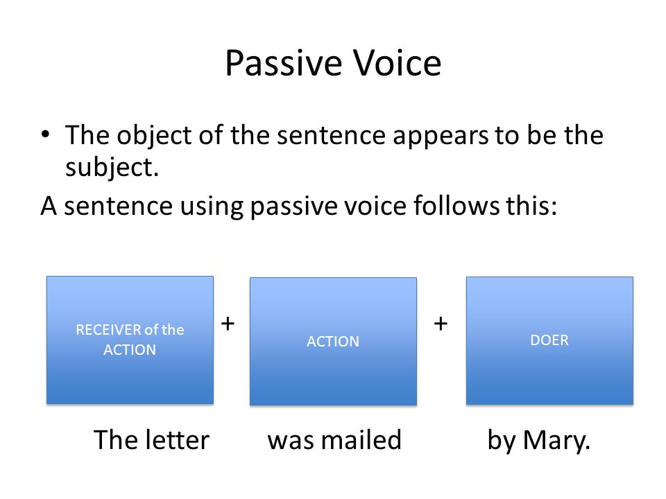 the object of grammar essay