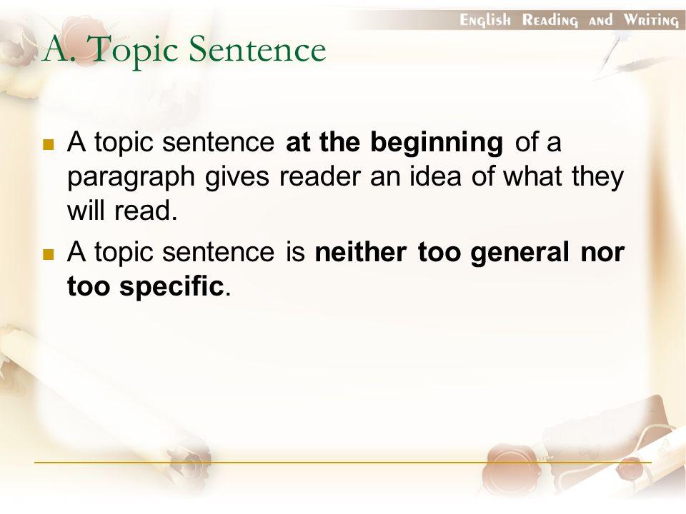 An idea for an english Essay?