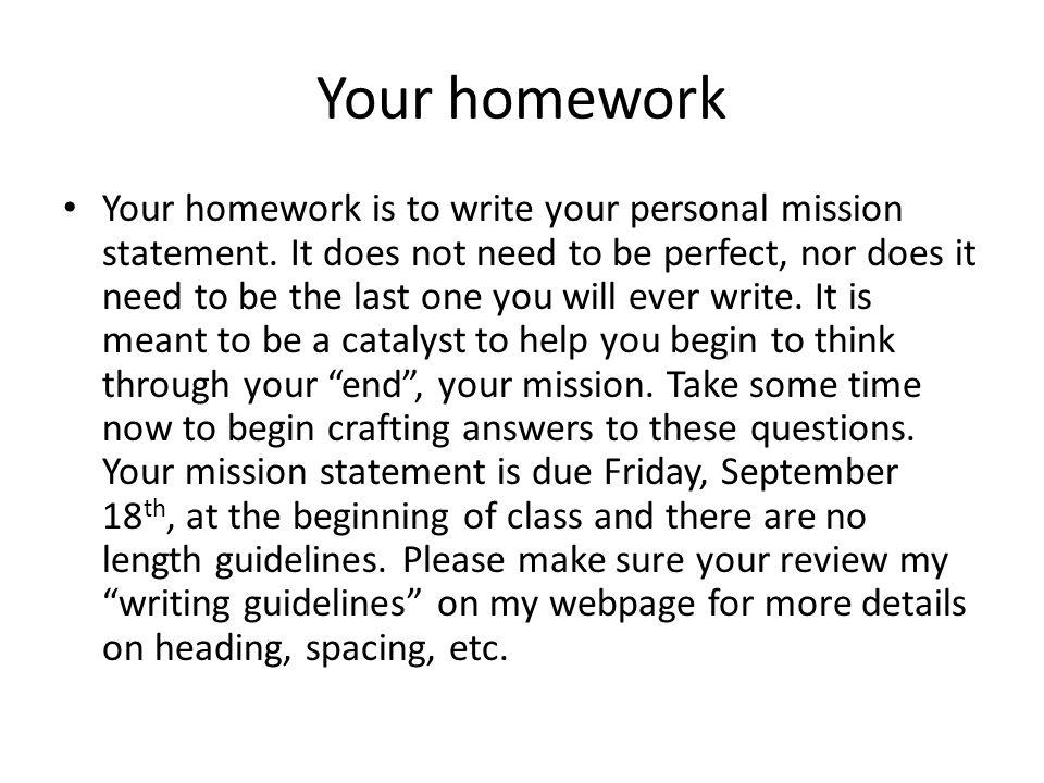 i need help writing my personal statement