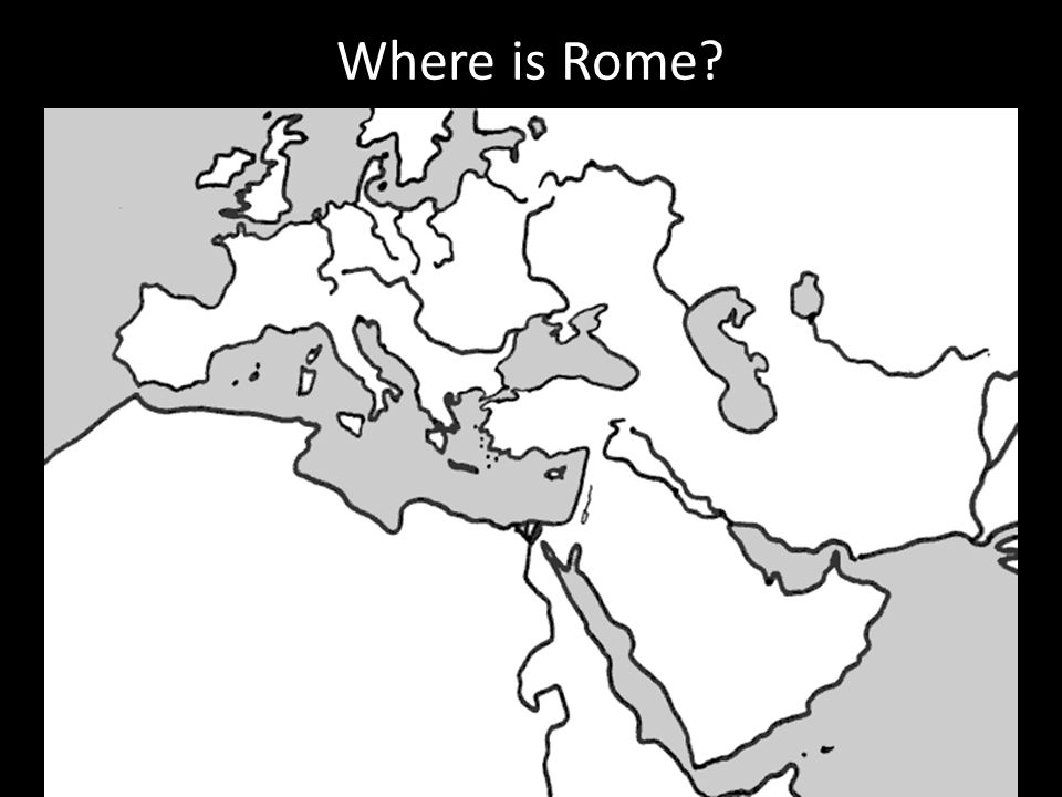 Ancient Rome Where Is Rome Lets Get Our Bearings Label The - Where is rome