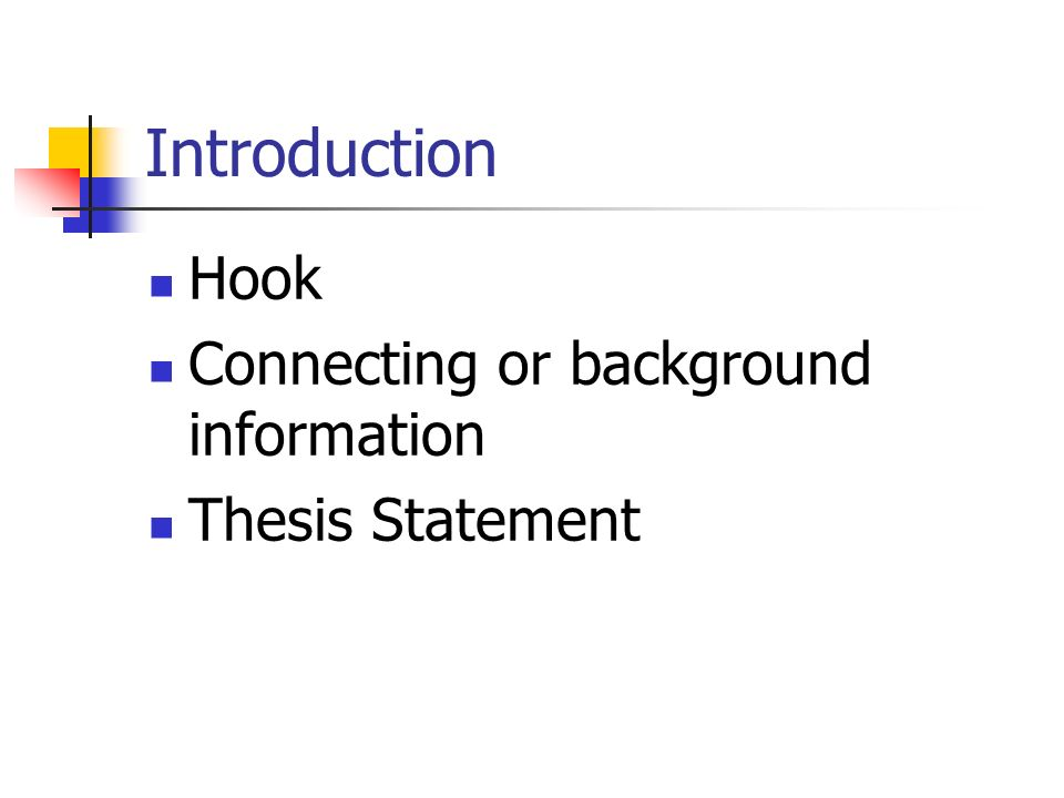 essay conclusion hook Learn how to write a hook (attention-getting intro) for an essay video includes 5 kinds of hooks: inverted pyramid, fact/statistic, anecdote/personal experi.