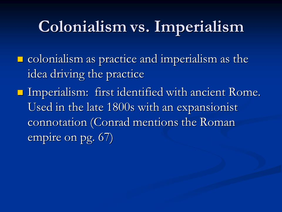 Motives For New Imperialism Essay