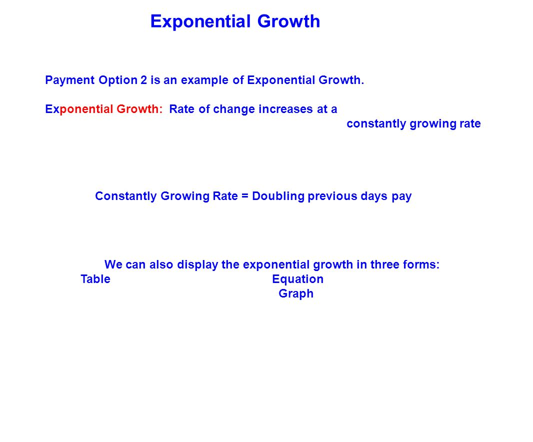 Table of contents exponential growth introduction exponential 39 exponential falaconquin