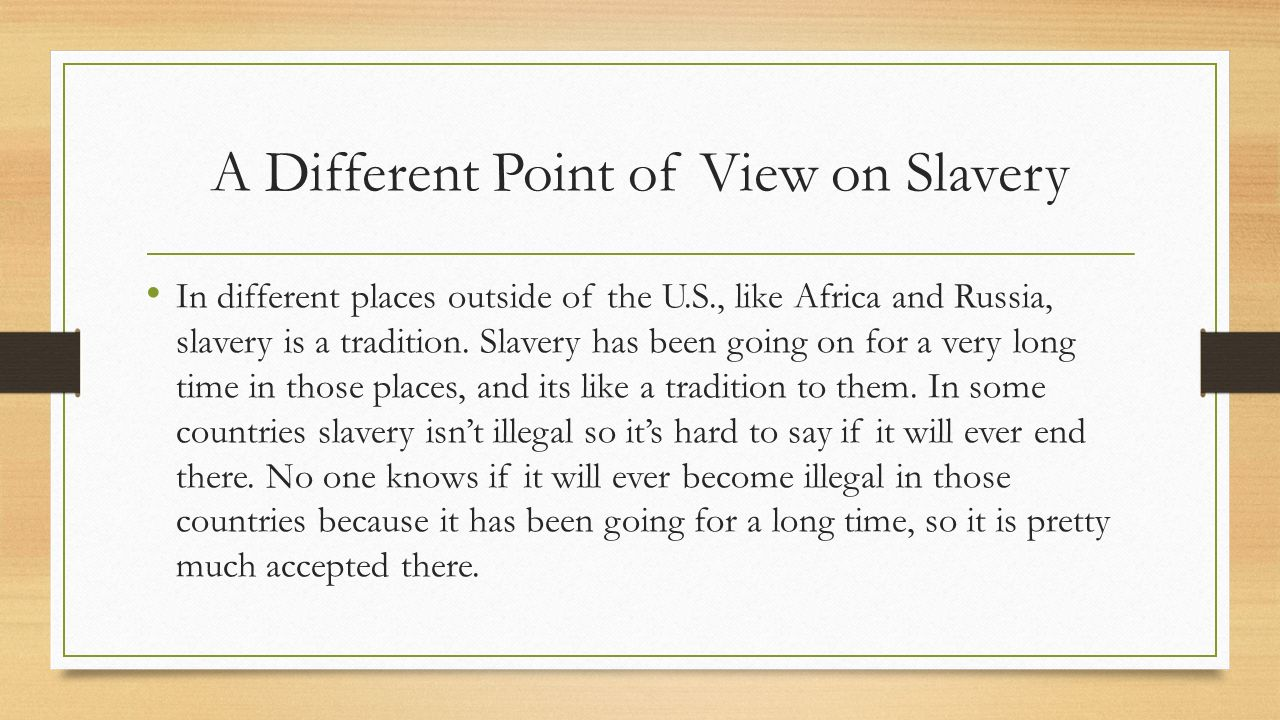 crucial difference slavery The evolution of slavery is crucial to understanding the importance of currently standing issues slavery began in 1440 when portugal started to trade slaves with west africa by the 16th century, western europeans developed an organized system of trading slaves however, the slave trade did not run as smoothly as expected.