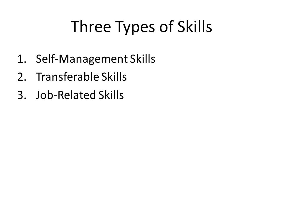 what are job related skills | template