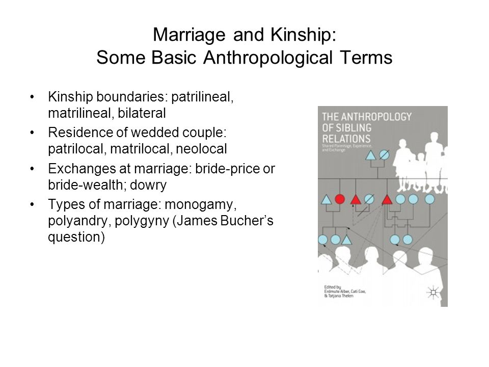How do i describe my family(kinship group) in anthropology terms?
