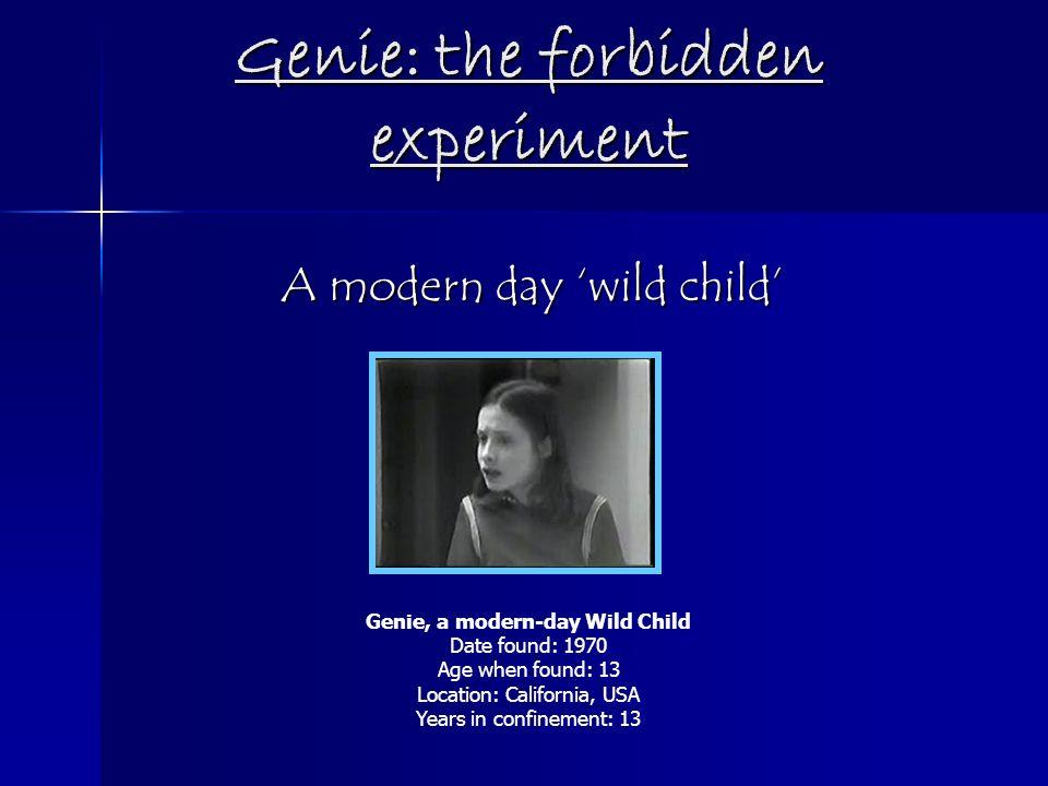 wild child essay