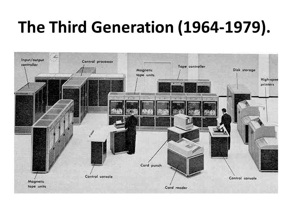The Third Generation (1964-1979).