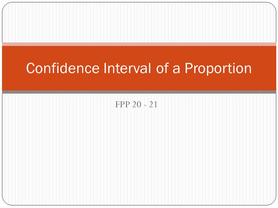 Why is this confidence interval worthless?