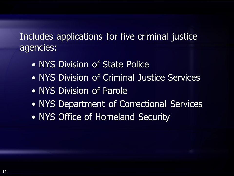 criminal justice integration project ou