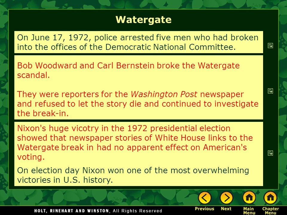 Why was Ford so kind to Nixon regarding Watergate?