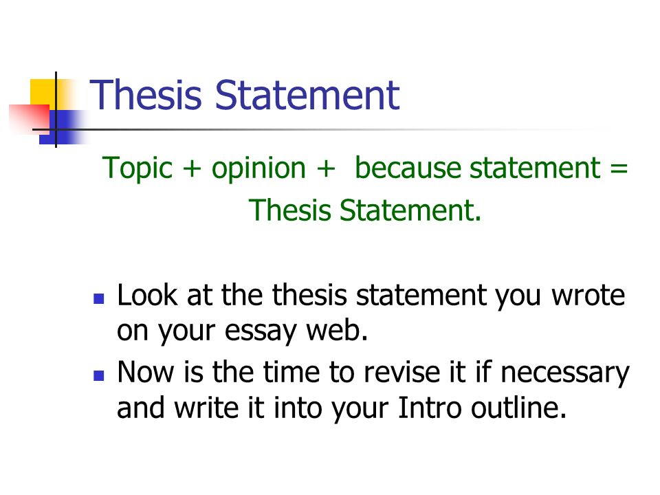 a report on thesis statement and conclusion Writing an essay can be daunting often, the hardest parts are deciding how to begin and how to end your essay the thesis statement and conclusion are essential.
