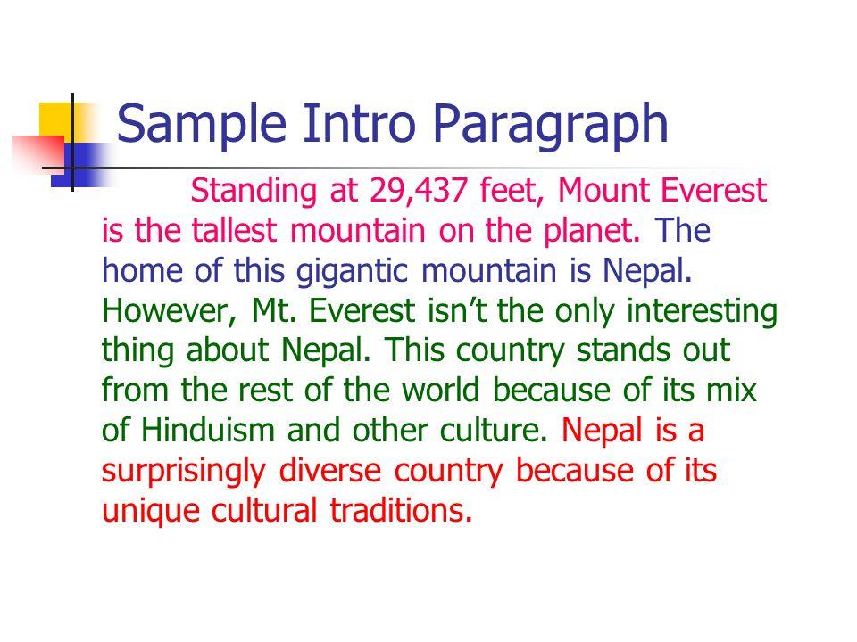 Cultural Essay