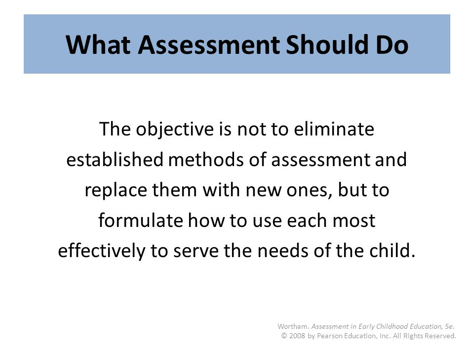 assessments for early childhood programs 2 essay Professionally written essays assessment of early childhood assessment of early childhood in five pages a student's assessment on early childhood is presented.