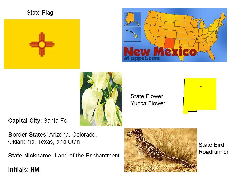 South West Region. Capital City: Phoenix Border States: California ...