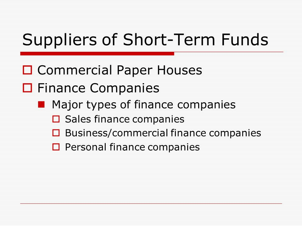 Financial terms commercial paper