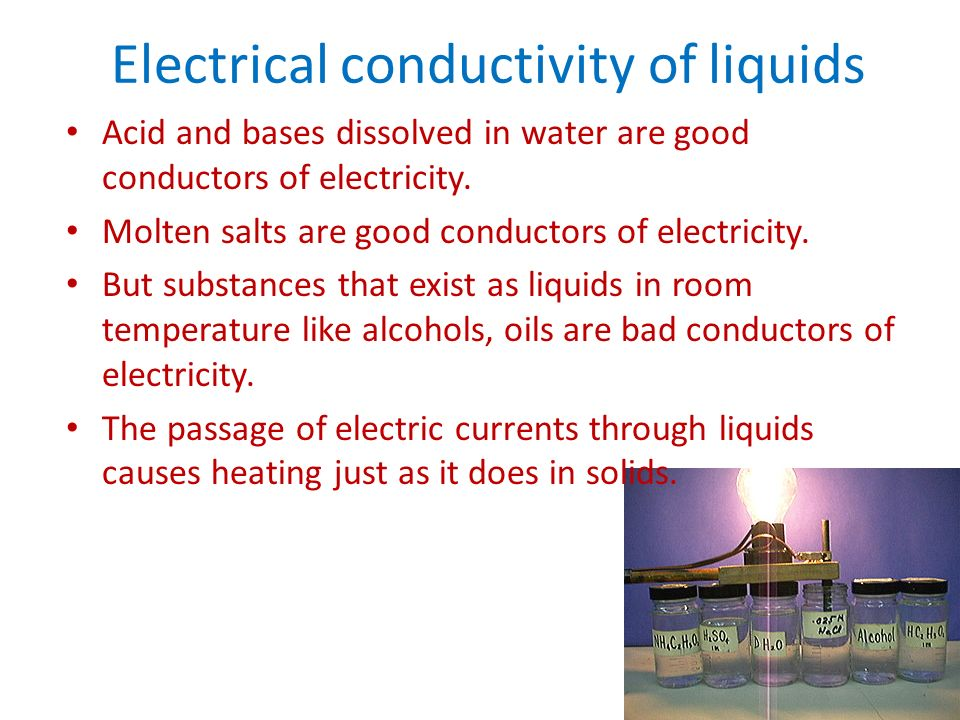 good conductors of electricity essay Get an answer for 'what are examples of poor conductors of electricity' and find homework help for other science questions at enotes.