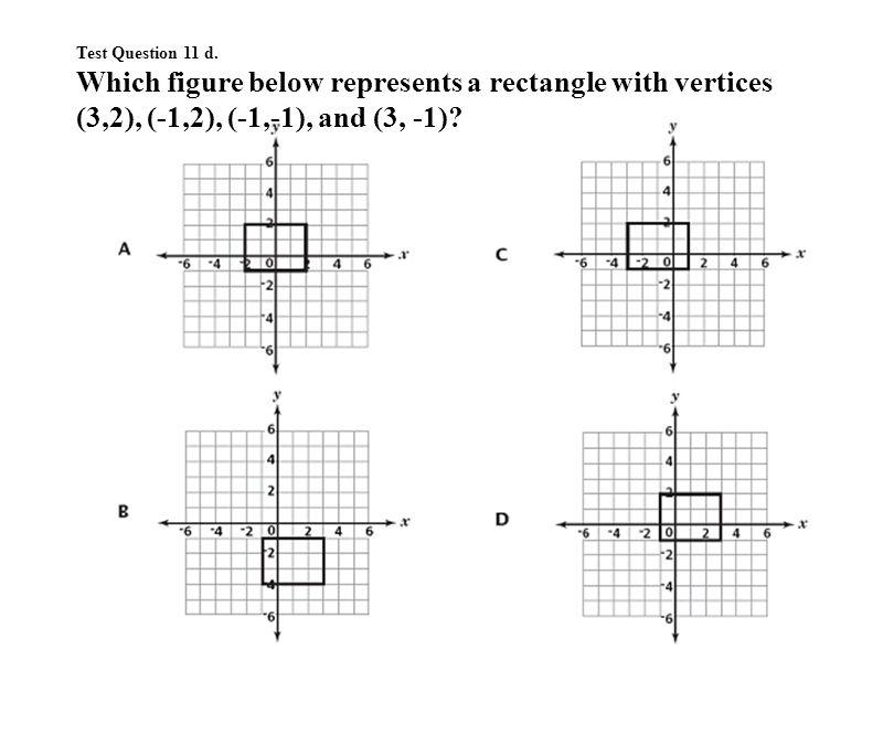 Test Question 11 d.