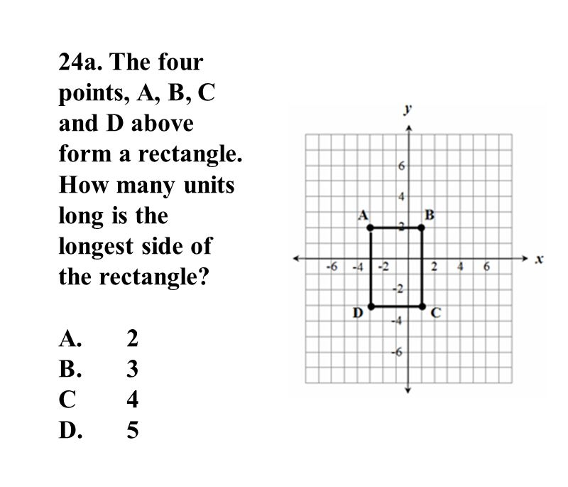 24a. The four points, A, B, C and D above form a rectangle.