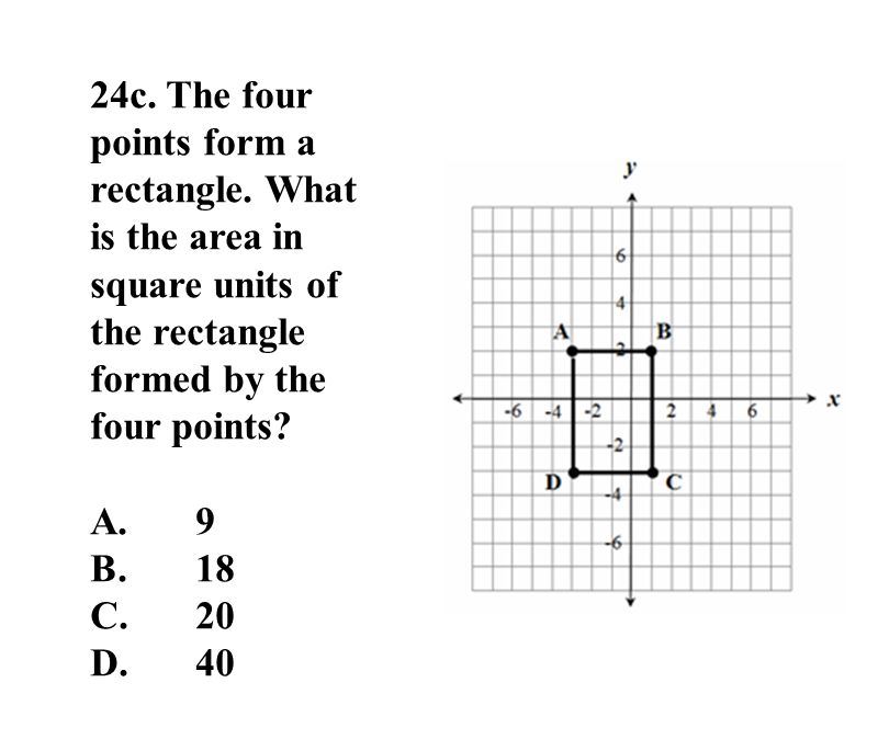 24c. The four points form a rectangle.