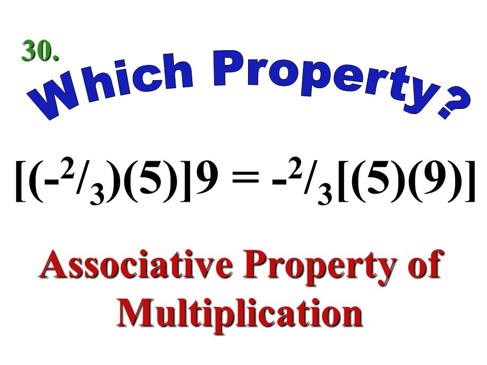 -8 2 / = -8 2 / 5 Identity Property of Addition 29.