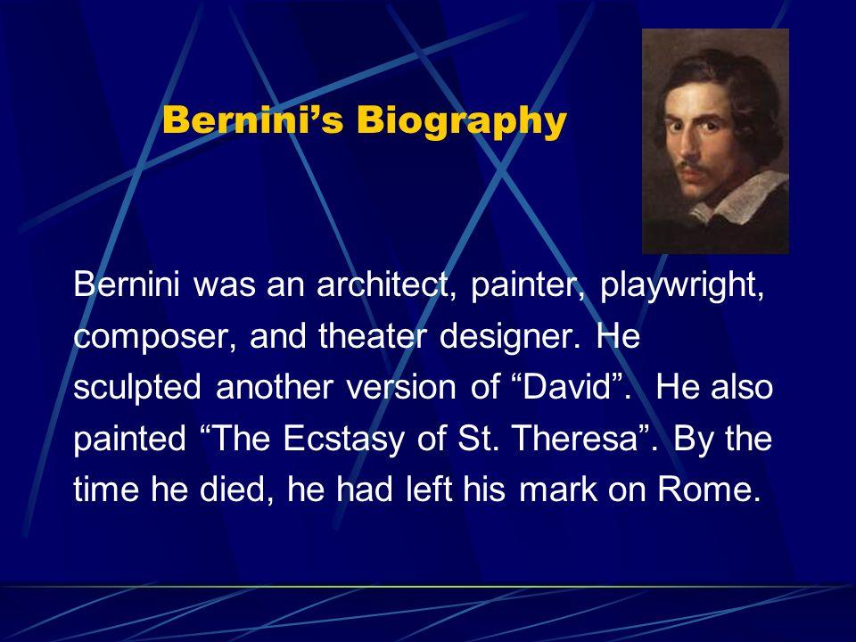 caravaggio and bernini lisa bergman p caravaggio s biography 5 bernini s biography