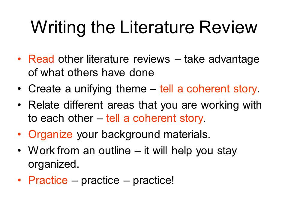 What are literature reviews