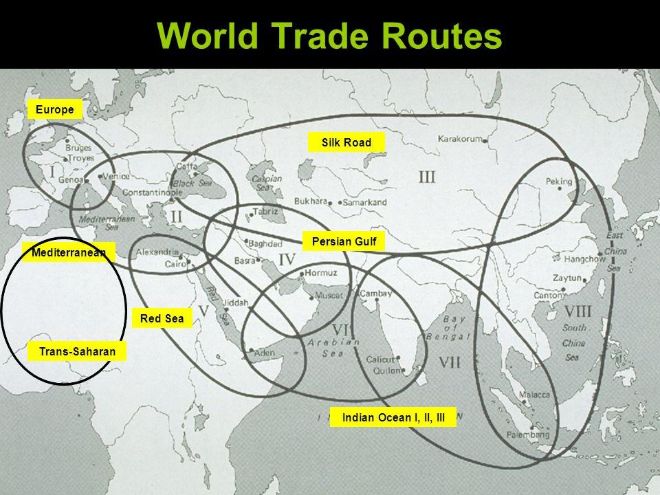 Trans Saharan Trade Route