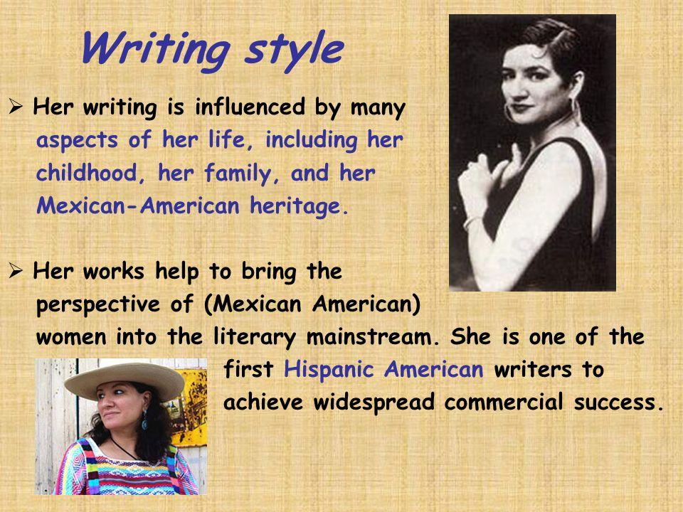 Sandra cisneros biography essay