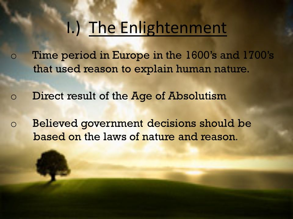the significance of the enlightenment period in america and europe How did the enlightenment influence the french revolution what ideas of the age of enlightenment were and they brought enlightenment ideals to america.