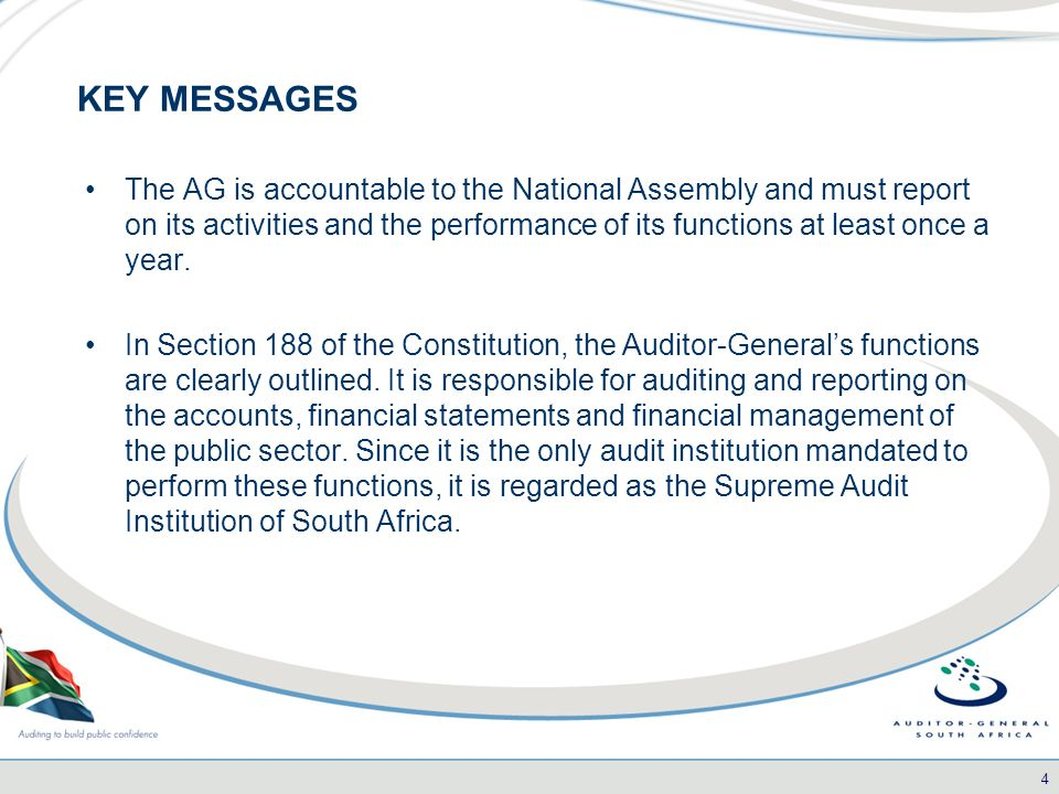 Page 1 Committee Presentation An Overview Of The External Audit
