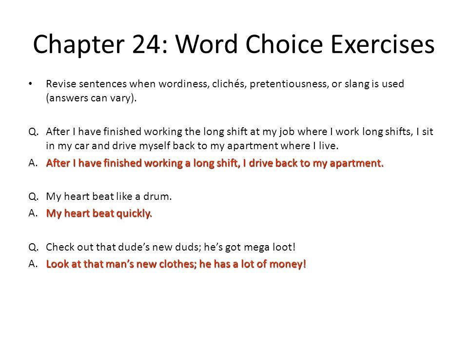sentence exercises chapter 10 Sentence fragments an incomplete sentence is called a sentence fragment a fragment lacks either a subject, a predicate, or does not communicate a.