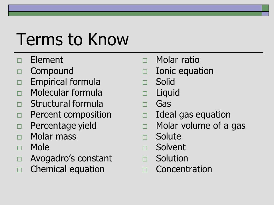 Ib topic 1 quantitative chemistry 15 solutions distinguish 12 terms to know ccuart Images