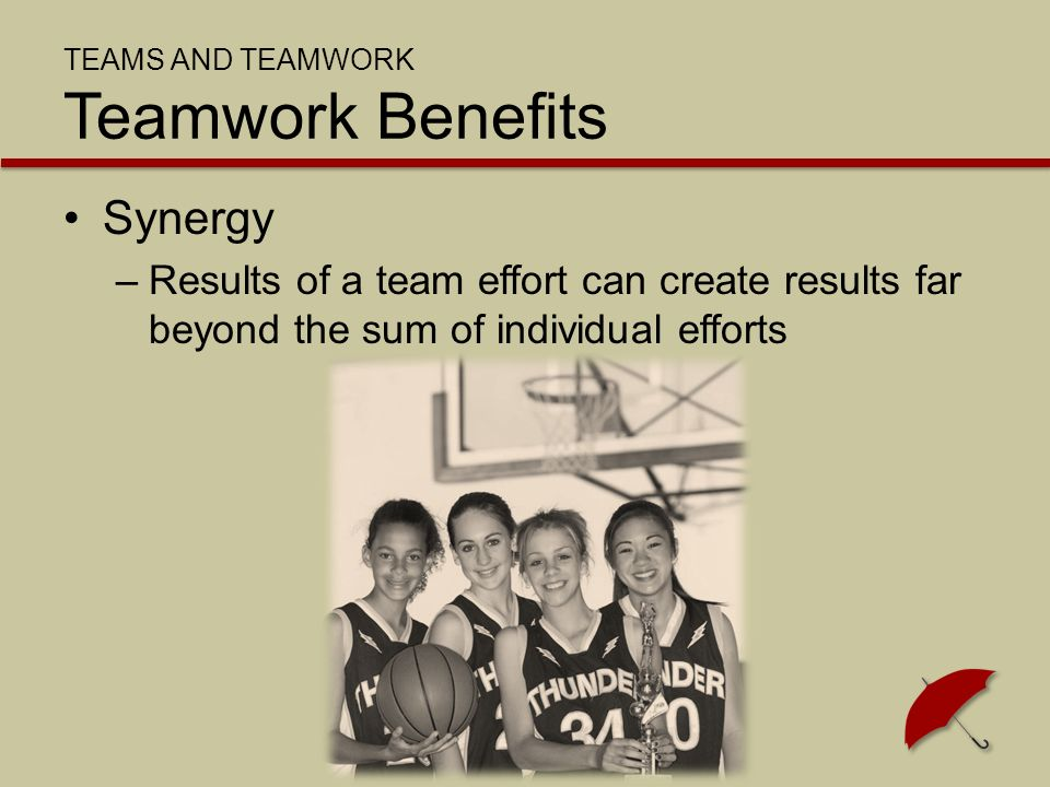 Membership composition –Mix of abilities, skills, backgrounds and experiences of the members Diverse teams –Generally more effective Homogenous teams –May be easier to manage