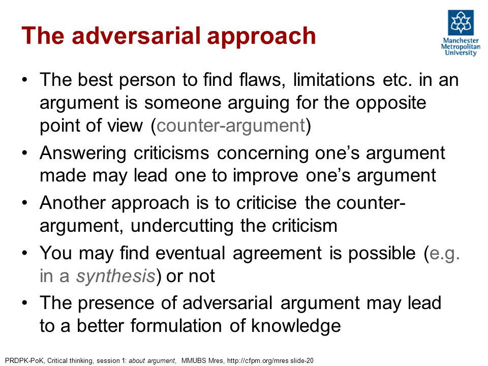 as critical thinking argument flaws