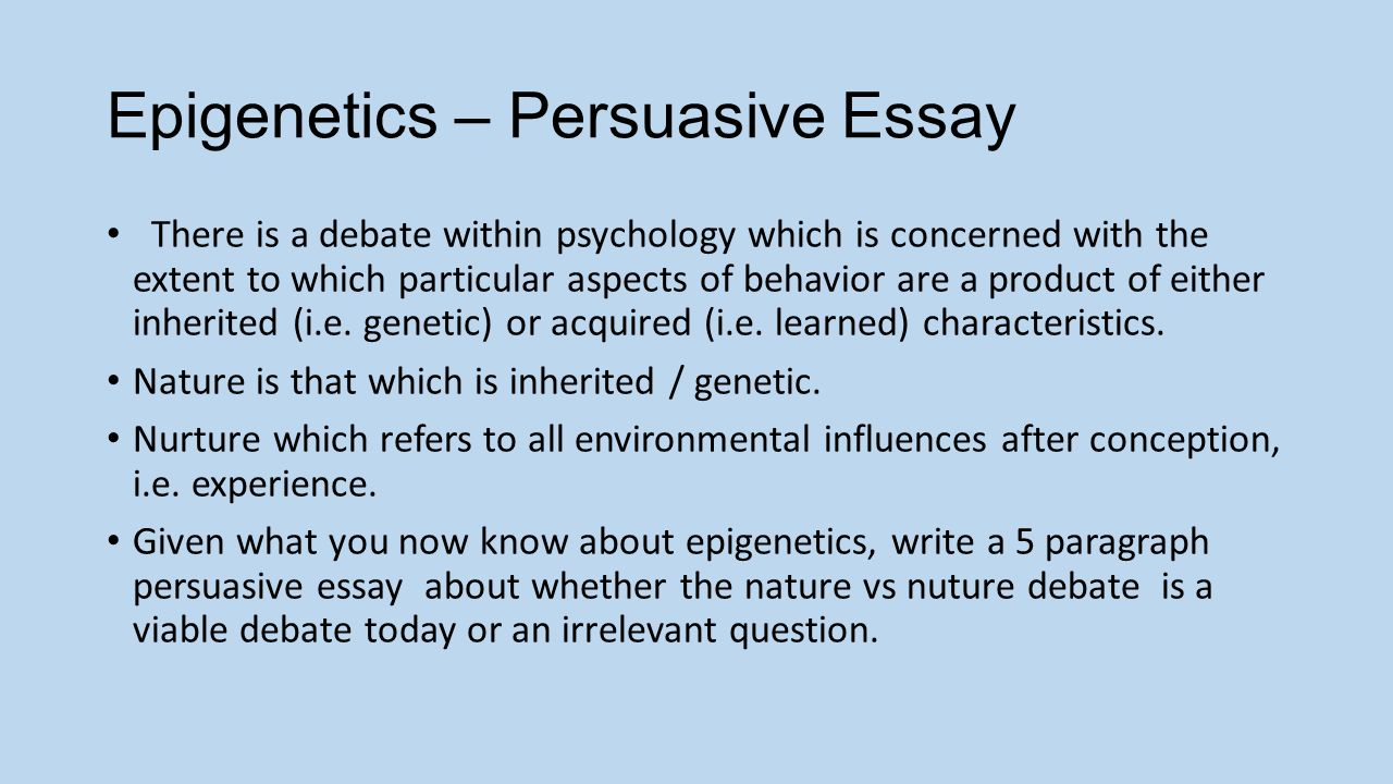unit molecular biology lesson dna replication protein epigenetics persuasive essay there is a debate in psychology which is concerned the extent