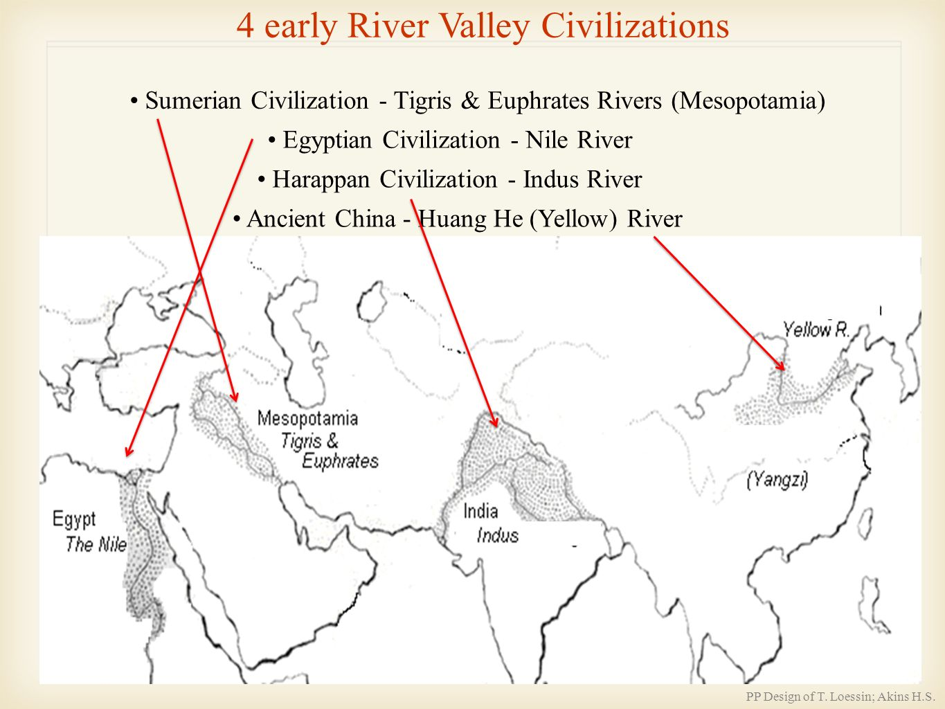 "early civilizations mesopotamia china Mesopotamia (from a greek term meaning ""between rivers"") lies between the tigris and euphrates rivers, a region that is today part of iraq by about 5000 bc, small tribes of farmers had made their way to the river valleys on the floodplains they raised wheat, barley, and peas they cut through the riverbanks so that water for their crops could."