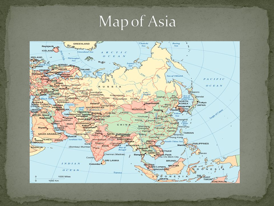 Do Now Examine The Map Of Asia Answer The Following Questions - Japan map questions
