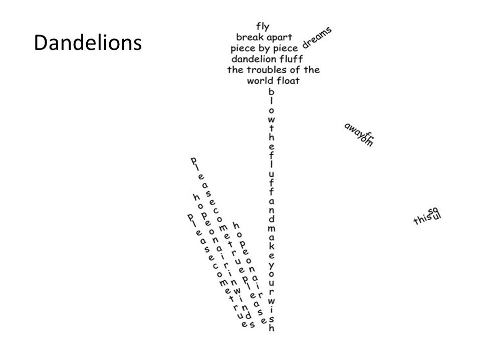 Concrete Poetry. - ppt video online download