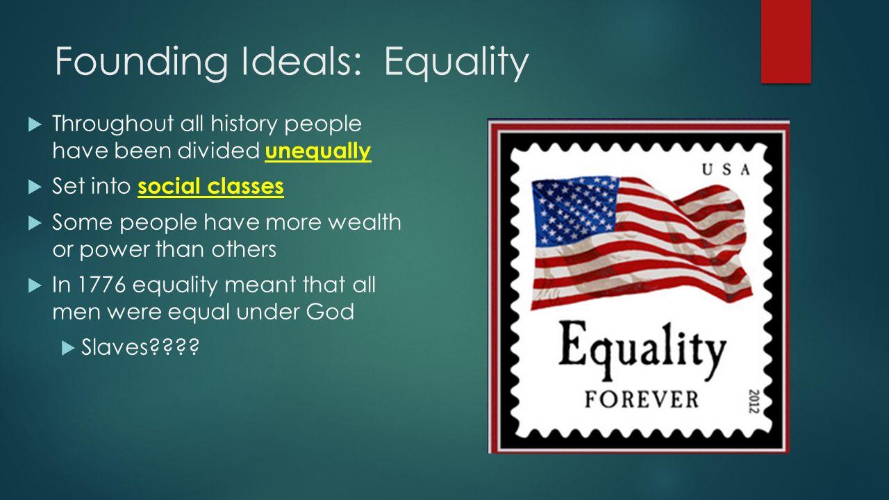fouding ideals