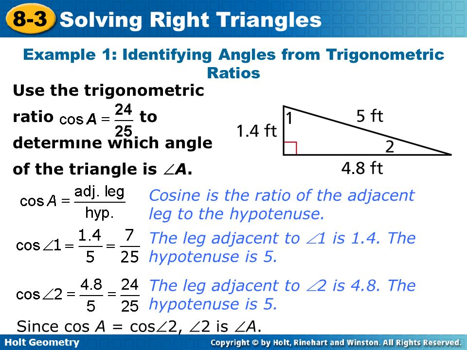 Triangle Equations Geometry Tessshebaylo – Solving Right Triangles Worksheet Answers