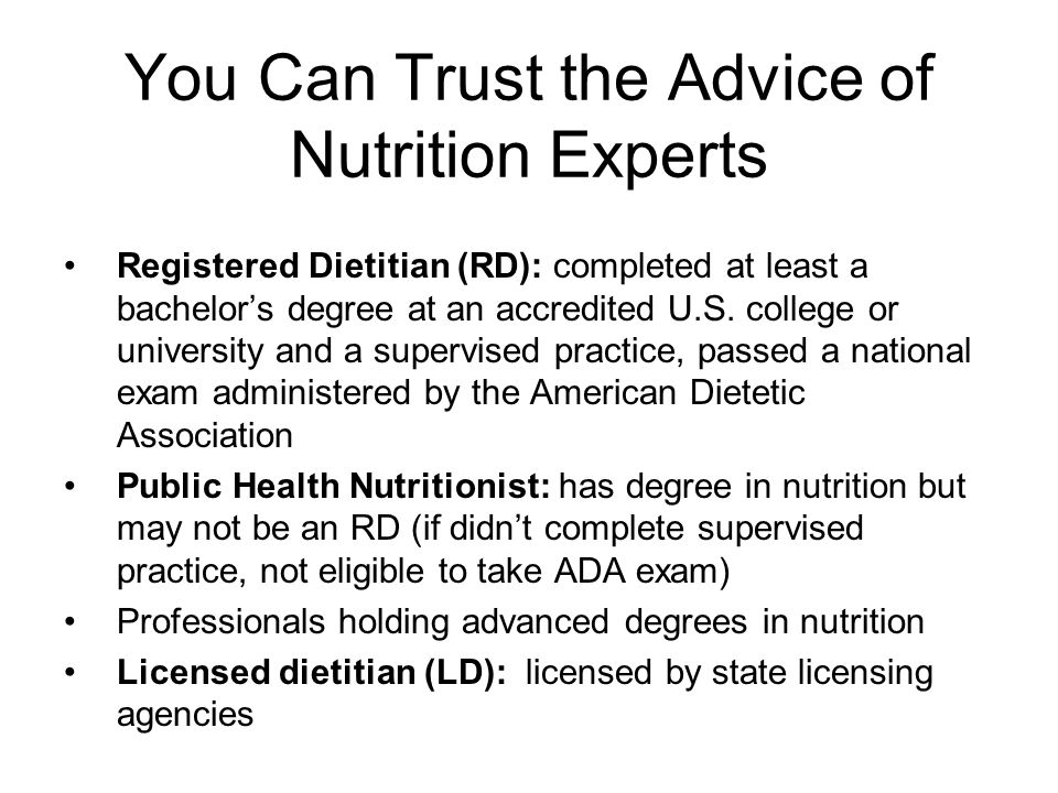 Chapter 1 An Overview Of Nutrition Chapter Objectives Identify The