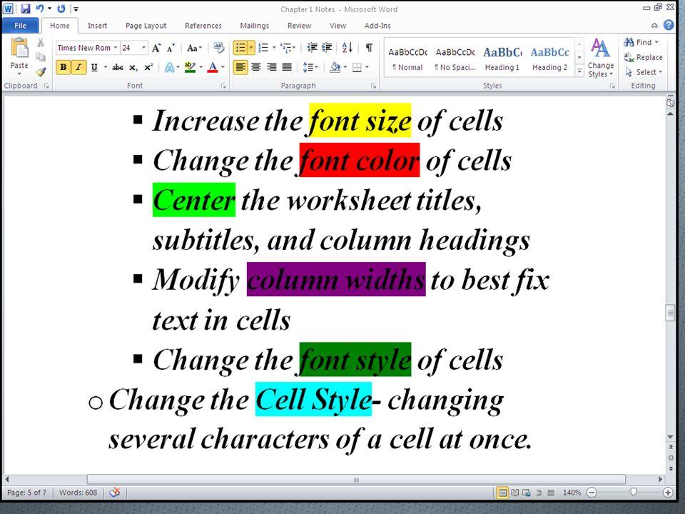 Weather Worksheet Excel Creating A Worksheet And Embedded Chart Chapter Ppt Download Menu Math Worksheets Free with Pattern Worksheets Grade 2 Excel Formatted Worksheet         Sentence Structure Practice Worksheets