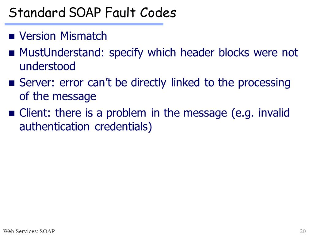 Figure 7 30 Method Of Notifying An Error In Soap Munication When You Do Not Use A Business Process The User Defined Exception